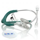 MDF Acoustica Lightweight Dual Head Stethoscope- Aqua Green (MDF747XP09)