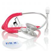 MDF Acoustica Lightweight Dual Head Stethoscope- Raspberry (MDF747XP23)
