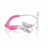MDF MD One Stainless Steel Dual Head Stethoscope- Pink (Cosmo) (MDF77701)