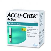 Accu-Chek Active Test Strips (Box of 100)