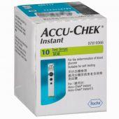 Accu-Chek Instant Test Strips (Box of 10)