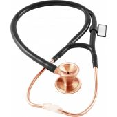 MDF Classic Cardiology Dual Head Stainless Steel Stethoscope -Gold Edition- Rose Gold Black (MDF797RG11)