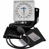 MDF Desk & Wall Aneroid Sphygmomanometer - Professional BP Monitor - Black (MDF84011)