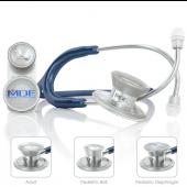 MDF MD One Epoch Titanium Stethoscope- Navy Blue (Abyss) (MDF777DT04)