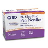 BD Ultra Fine III Pen Needles (pack of 50)