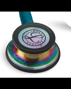Littmann Classic III: Rainbow Finish chest-piece with Caribbean tubing 5807