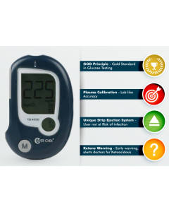 Accurex Clevercheck Blood Glucose Meter