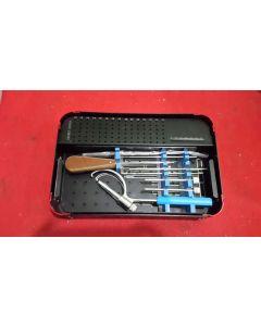 Broken Screws Removal Instruments Set
