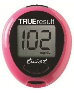 Nipro TRUEresult Twist kit Pink colour BG monitor