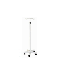 Classic Saline Stand  (M.S.) with wheels