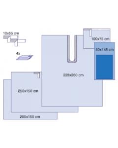 Steri-Drape Extrimity Pack Drapes, Box of 5 drapes