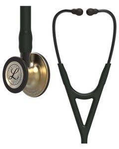 Littmann Cardiology IV: Brass FInish Chest-Piece with Black Tubing 6164