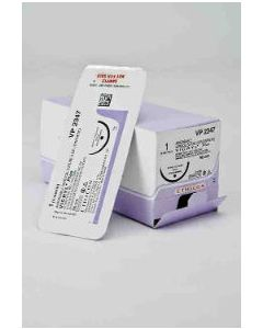 VP2534-1/2 Circle Reverse Cutting OS, 0, 36 mm, VICRYL PLUS Violet Braided Antibacterial 90 cm
