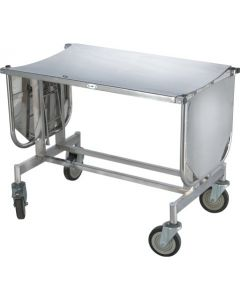 Premium Stretcher Trolley Both Side Folding With S/S Top CW 19