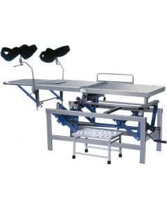 PREMIUM SIMS O.T. TABLE HEIGHT ADJUSTABLE SS TOP -CW 39A