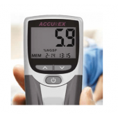 Accurex HbA1C meter