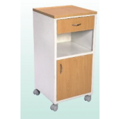 Classic Bedside Locker with Drawer and Cabinet