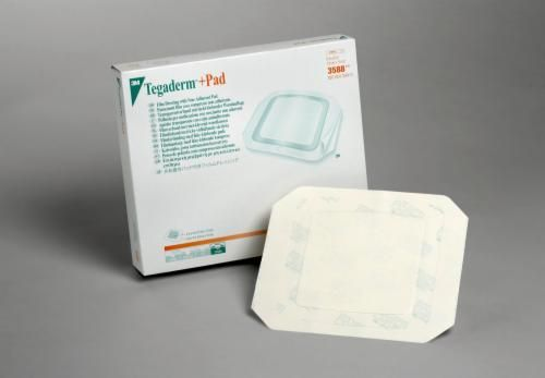 3M™ Tegaderm™ +Pad Transparent Dressing with Non-Adherent Pad