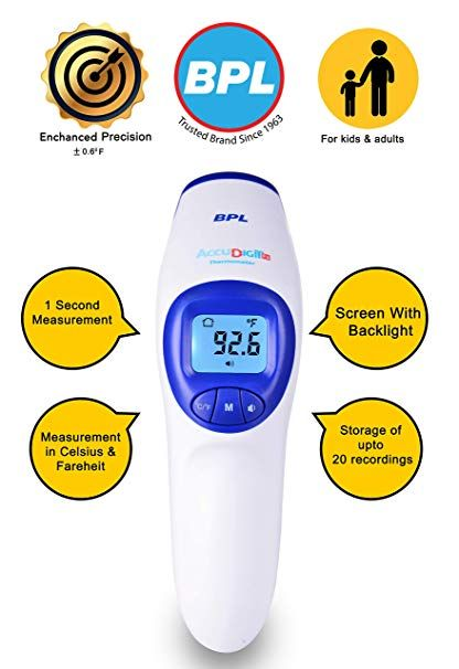 BPL Infrared Forehead Thermometer Accu-Digit F1