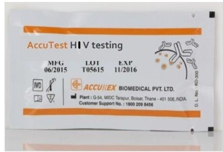 Accurex Accutest HIV1/2 (Pack of 50 Tests)
