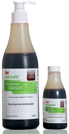 Avagard 7.5% PVP Scrub