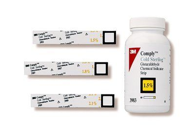 3M Comply Glutaraldehyde Monitors 3983MM