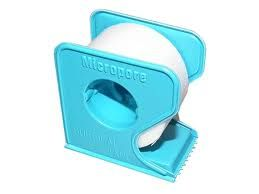 3M Micropore Surgical Tape with Dispenser 1535, Bulk pack