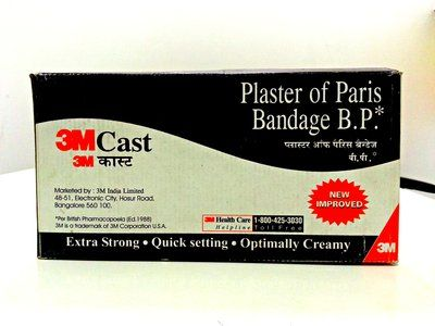 3M Plaster of Paris Cast B.P.