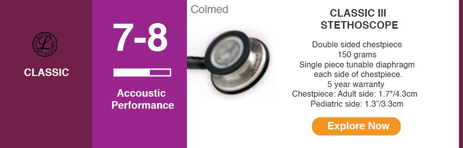 3M Littmann Stethoscope Classic III